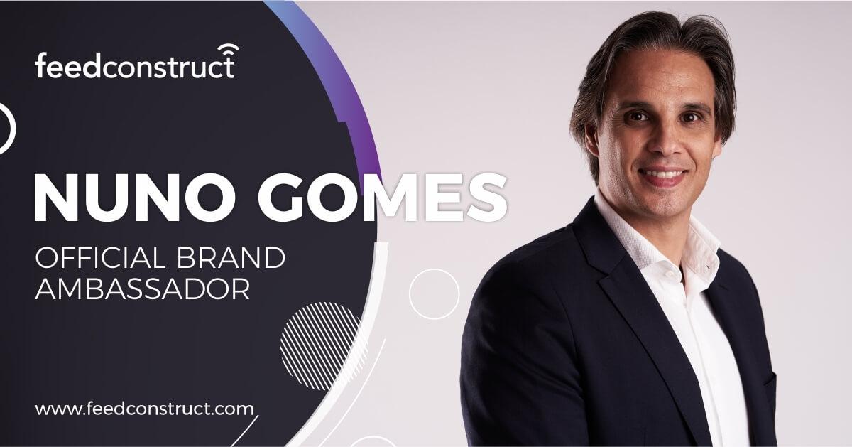 FeedConstruct Welcomes Nuno Gomes as a Brand Ambassador
