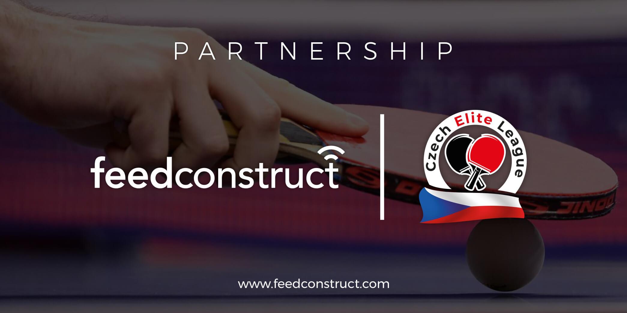 FeedConstruct becomes the exclusive content provider of the Czech Elite League