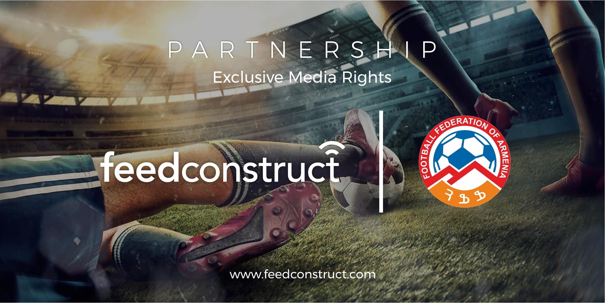 FeedConstruct gains exclusive media rights to cover matches of the VBet Armenian Premier League's 20/21 season