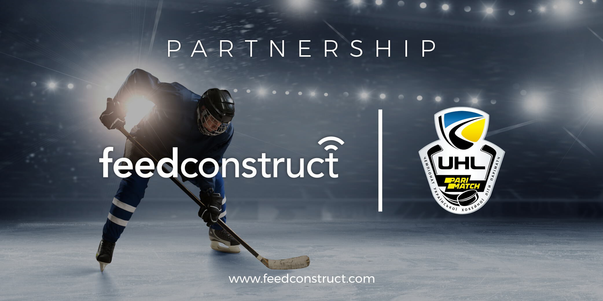 FeedConstruct signs exclusive deal with the Ukrainian Hockey League