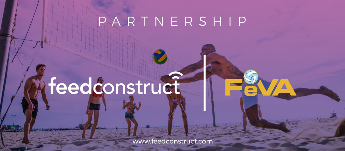 FeedConstruct's NEW partnership to exclusively cover FeVA's Beach Volleyball