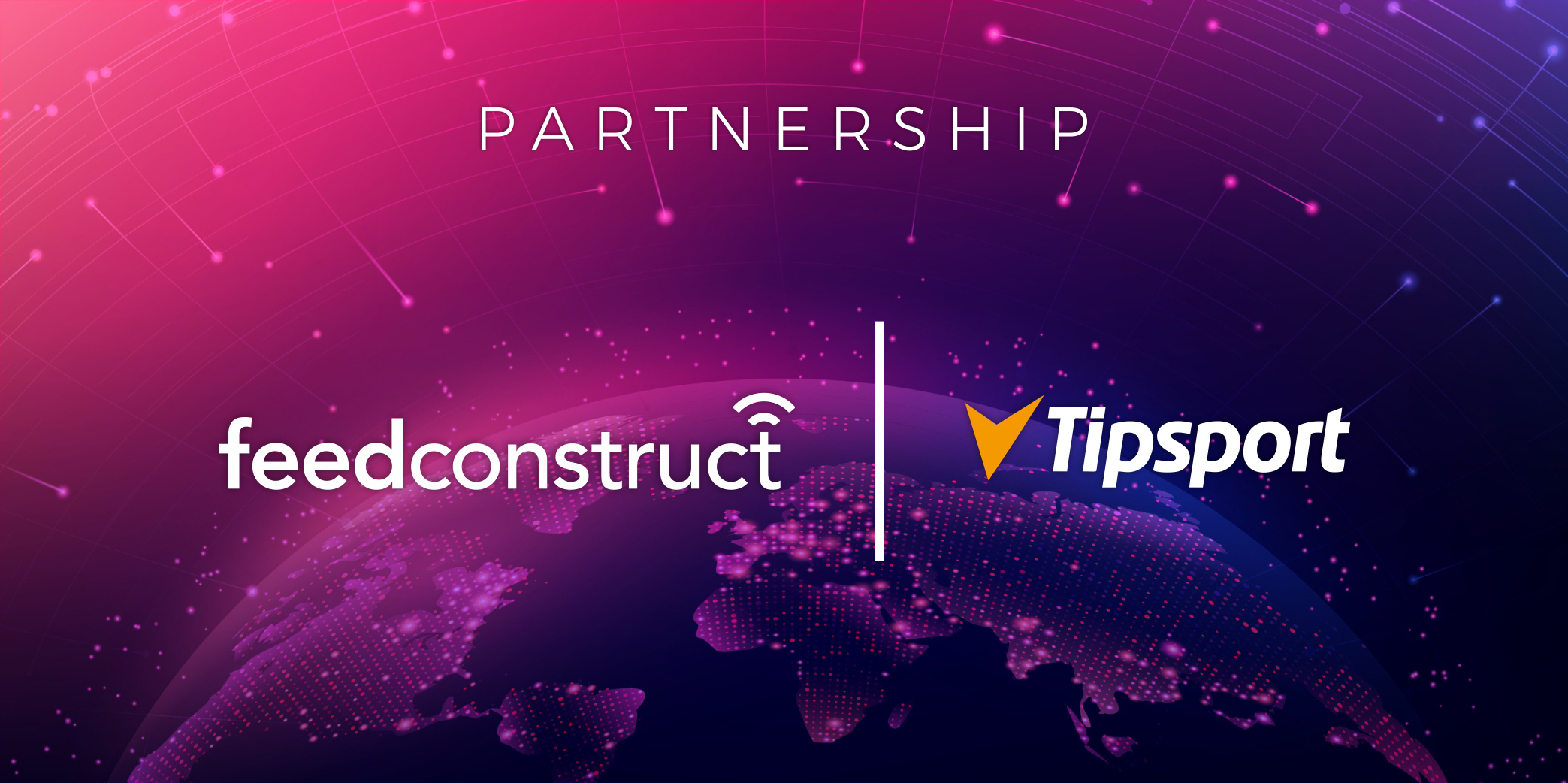 FeedConstruct is celebrating an extended partnership with Tipsport