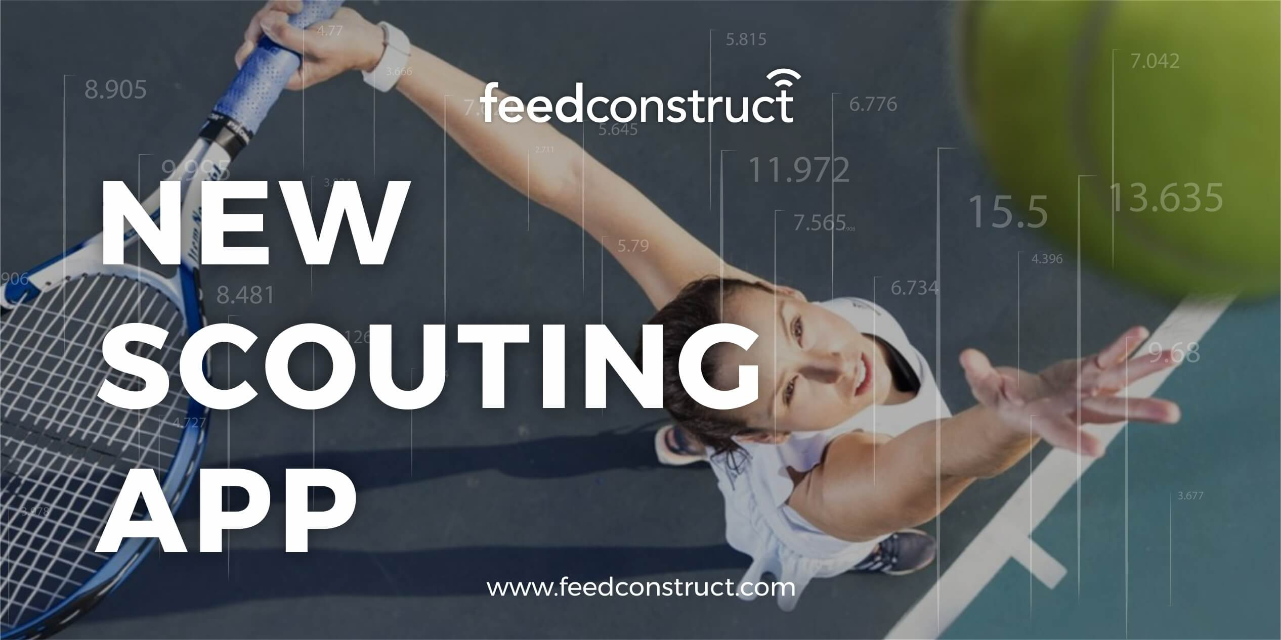 FeedConstruct's new scouting app to cover Tennis