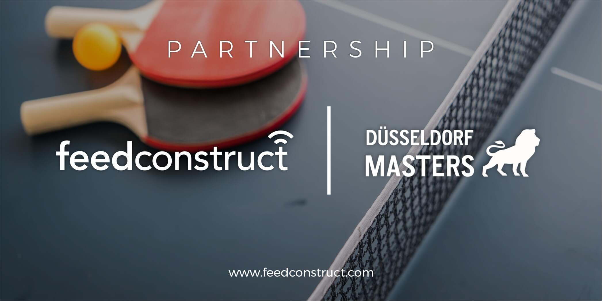 Düsseldorf Masters signs FeedConstruct as exclusive data provider